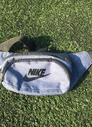 Бананка сумка Nike ( не adidas,tnf,puma,Reebok)