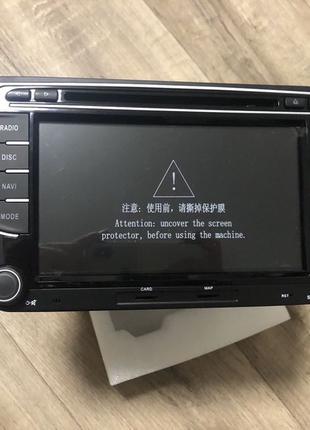 Магнитола Volkswagen Android 10 штатная (4/64Gb) RCD330+ камер...