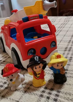 Музыкальная пожарная машина Fisher-Price Little People