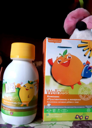 Омега-3 и Мультивитамины и минералы для детей,