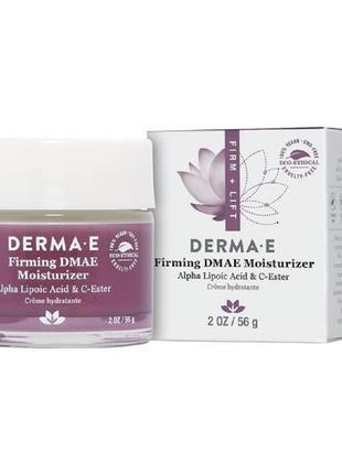 Увлажняющий крем с ДМАЭ для упругости кожи Derma E США