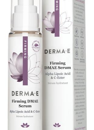 Сыворотка с ДМАЭ и витамином С для упругости кожи Derma E США