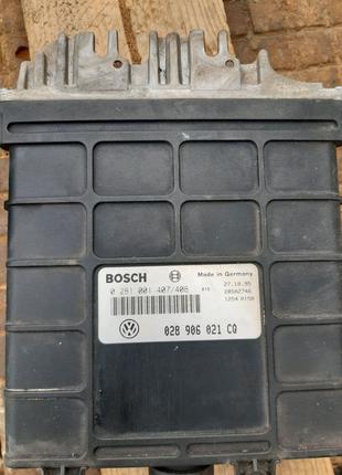 Блок управления ЭБУ 029 906 021CQ.WV Caddy 2 SDI1.9