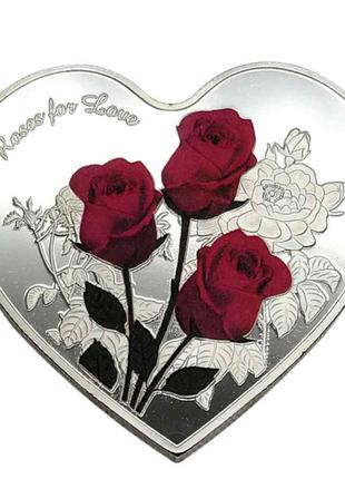 Памятная монета День Святого Валентина I Love You