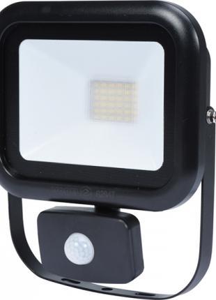 Светодиодный прожектор LED 30 Ватт с датчиком движения Vorel 8284