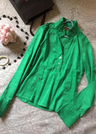 Блуза зеленая размер с