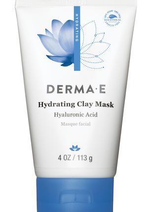 Увлажняющая маска на основе глины с гиалуроновой кислотой Derma E