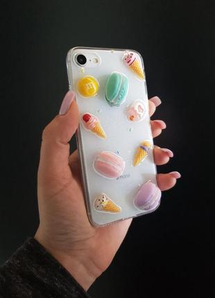 Чехол macaron 3d, чехлы для телефона
