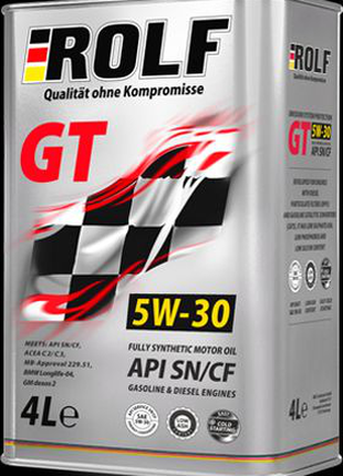 Моторное масло ROLF GT 5W-30 SN/CF