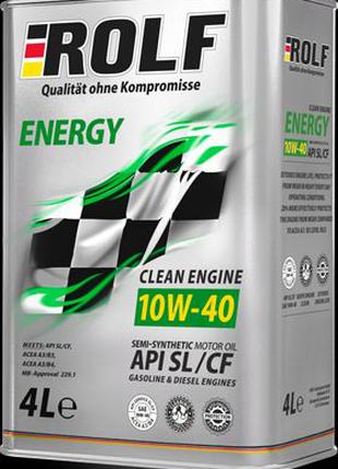 Моторное масло ROLF ENERGY 10W-40 SL/CF