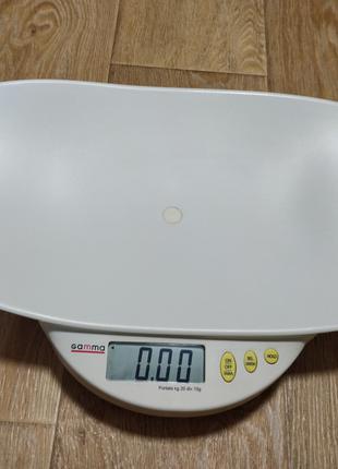 Весы для новорожденных электронные Gamma (Швейцария)