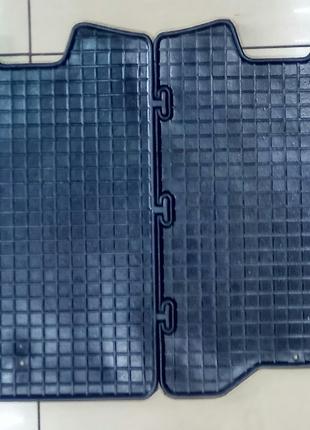 Коврики резиновые салона задние для Mersedes Citan 2013>