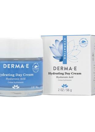 Увлажняющий дневной крем с гиалуроновой кислотой Derma E США