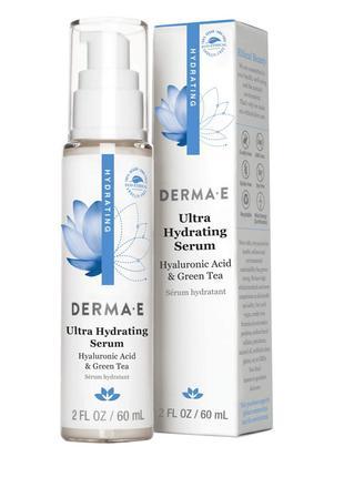 Ультраувлажняющая сыворотка с гиалуроновой кислотой Derma E США