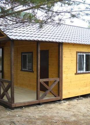 Дачный домик премиум качества