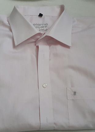 Рубашка хлопковая Eterna Exellent  р 45