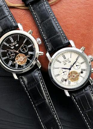 <Механические часы с автоподзаводом Jaragar> Оригинал! 3 Цвета!