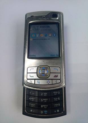 Мобильный телефон Nokia N80 Silver