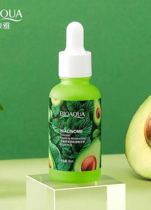 Сыворотка для лица bioaqua niocinome avocado с экстрактом авок...