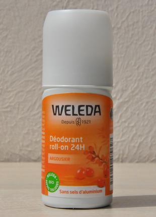 Роликовый дезодорант Облепиха Weleda