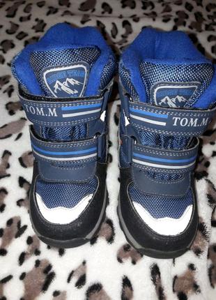 Зимние термо сапожки для мальчика торговая марка Тоm.m