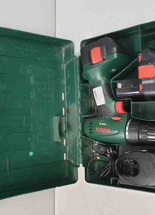 Безударная дрель-шуруповерт Bosch PSR 12 1.2Ah x2 Case