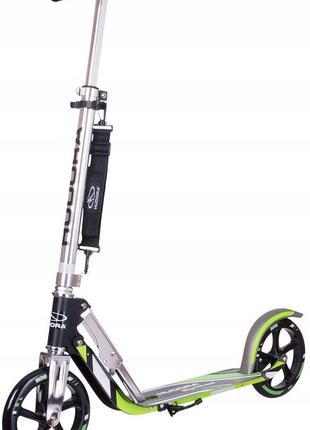Самокат раскладной городской Hudora Big Wheel RX-Pro 205 Green