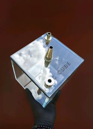 Кальяны G CUBE Ultra (колба + шахта). Кальян куб