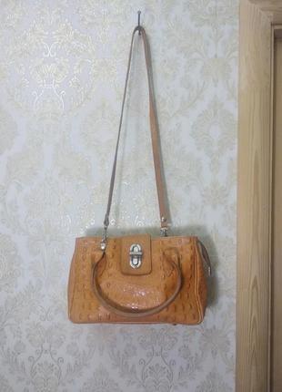 Женская кожаная сумка genuine leather (оригинал)
