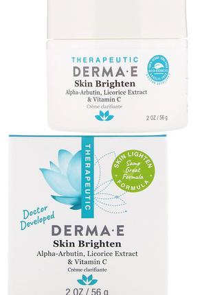 Средство для осветления кожи лица Derma E США