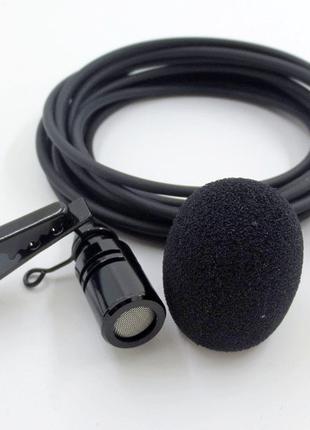 Качественный петличный микрофон петличка для камеры смартфона
