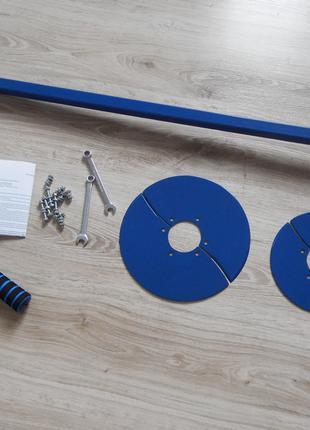 """Ручной бур """"Скала-15"""" с набором насадок 125, 150, 200 и 250 мм"""