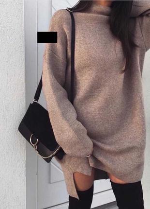 Тёпленькое платье на осень/зиму⛄️🧡