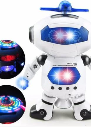 Танцующий светящийся робот Dancing Robot | Детская игрушка
