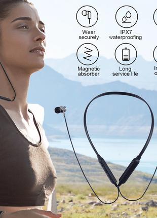 Bluetooth Наушники Магнитные, Гарнитура Блютус, Спортивные