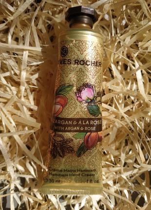 Крем для рук 30 мл аргания роза yves rocher