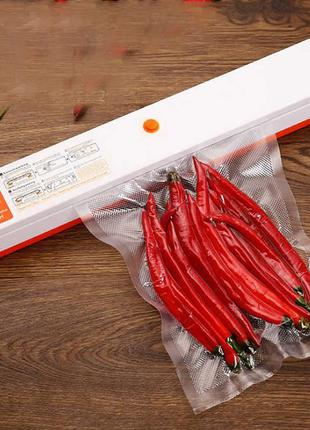 Вакуумный упаковщик для продуктов Вакууматор Вакуумная упаковк...