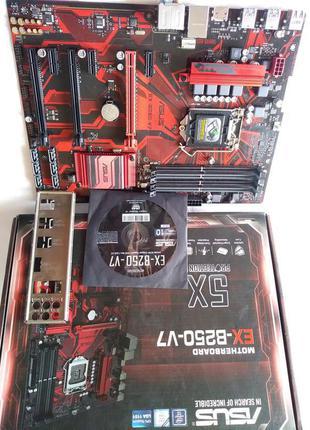 Материнская плата ASUS EX-B250-V7 (s.1151 DDR4)