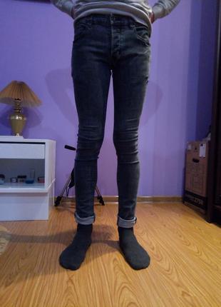 Topman джинсы штаны узкие узкачи штаны деним
