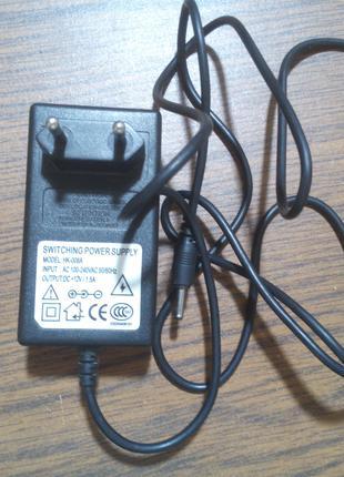 Блок питания 12V 1.5A HK-008A