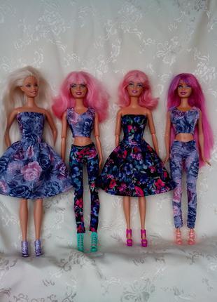 Набор Одежды На Барби Одежда Для Барби Платья Леггинсы