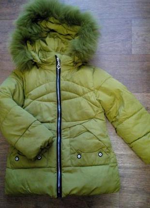 Очень теплая куртка на девочку