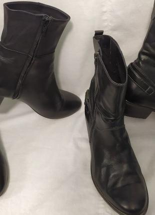 Две пары кожаной обуви женские размер 39 и 40 Tamaris и H&M