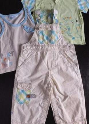 Костюм тройка шорты рубашка майка children wear таиланд разм.80