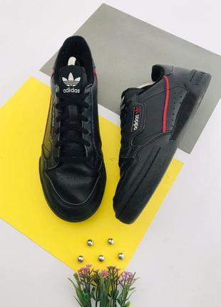 Оригинальные кожаные кроссовки adidas
