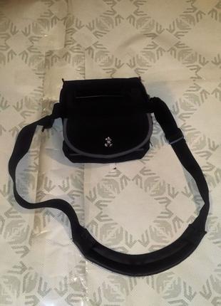 Сумка Disney сумка для фотокамеры видеокамеры чёрная Микки Маус