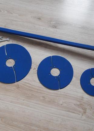 """Универсальный бур """"Скала-31"""" с ножами 125, 150, 200, 250 и 300 мм"""