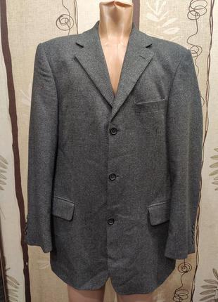 Daniel hechter шерсть и кашемир! мужской двубортный пиджак