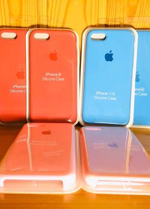 Чехол на все модели Айфонов (Silicon case, full silicon case)