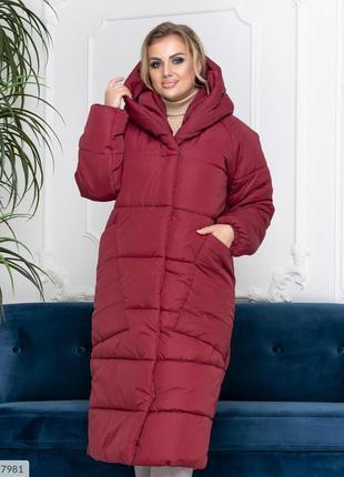 Пальто пуховик одеяло зимнее